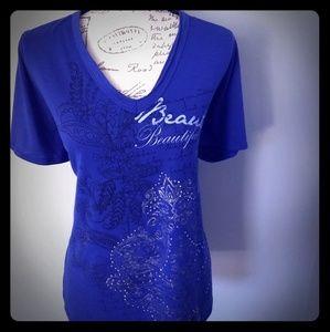 Women's Lane Bryant v-neck t-shirt